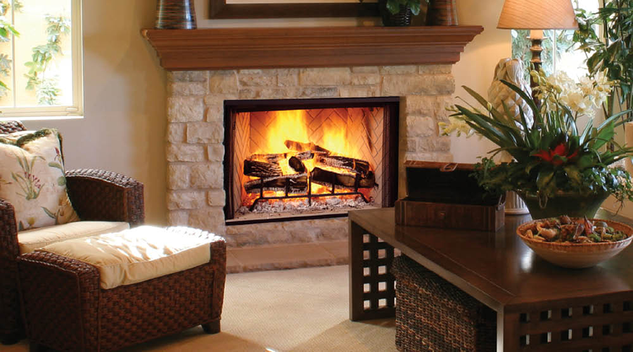 Majestic Biltmore 60 Wood Burning Fireplace