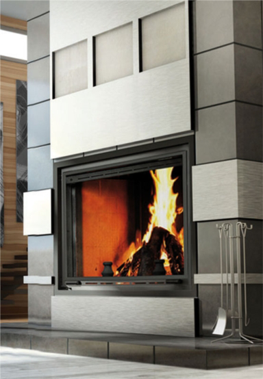 Valcourt FP11 Frontenac Wood Fireplace