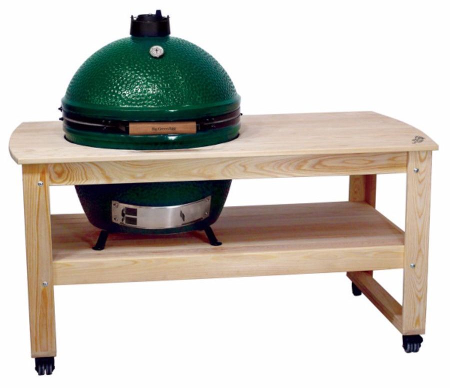 Big Green Egg Unfinished Cypress Table