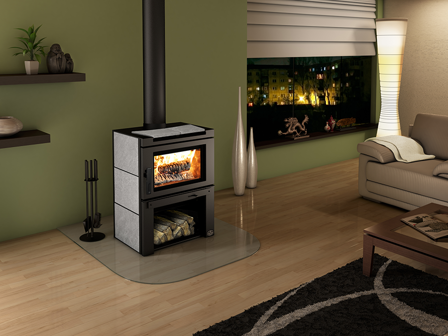 Osburn Matrix Wood Stove with Blower Woodstove